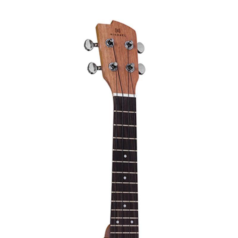 Ukulele Michael Mk23 Zebrano  - Luggi Instrumentos Musicais