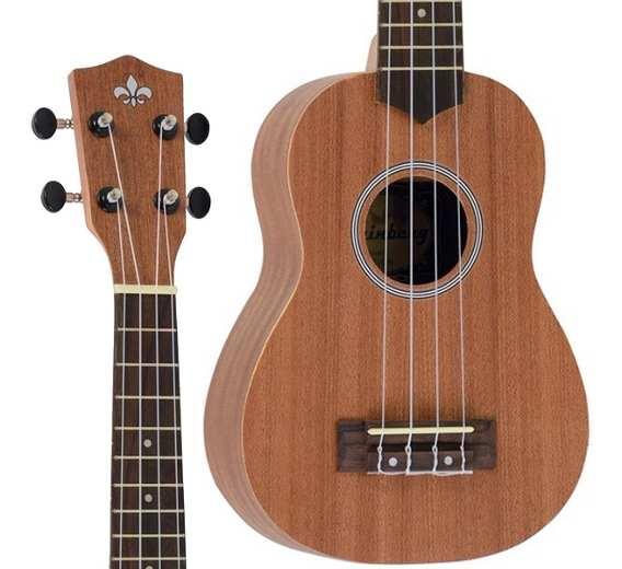 Ukulele Strinberg Uk-06S Soprano Mgs Fosco C/Capa  - Luggi Instrumentos Musicais