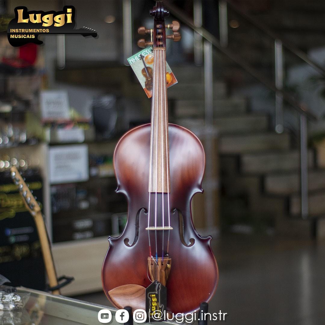 Viola Classica Nhureson 42 Evf Madeira Exposta  - Luggi Instrumentos Musicais