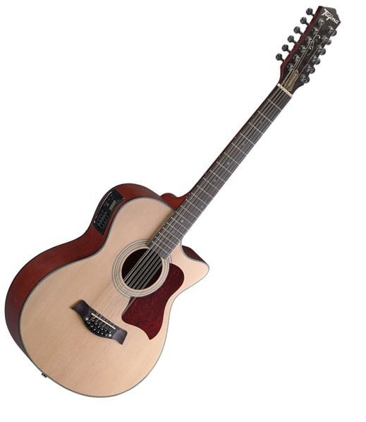 Violão 12 Cordas Tagima Califórnia Xii Natural Fosco  - Luggi Instrumentos Musicais