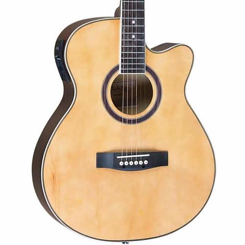 Violão Class Guitar Aço Cla40Ce Natural  - Luggi Instrumentos Musicais