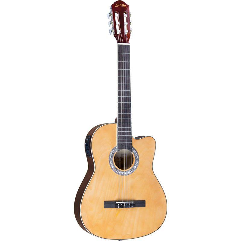 Violão Class Guitar Nylon CLC39 Natural  - Luggi Instrumentos Musicais