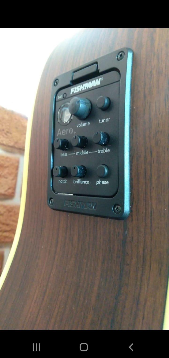 VIOLAO CONDOR ACO ELETROACUSTICO D15EQ SIGNATURE Ch & X  - Luggi Instrumentos Musicais