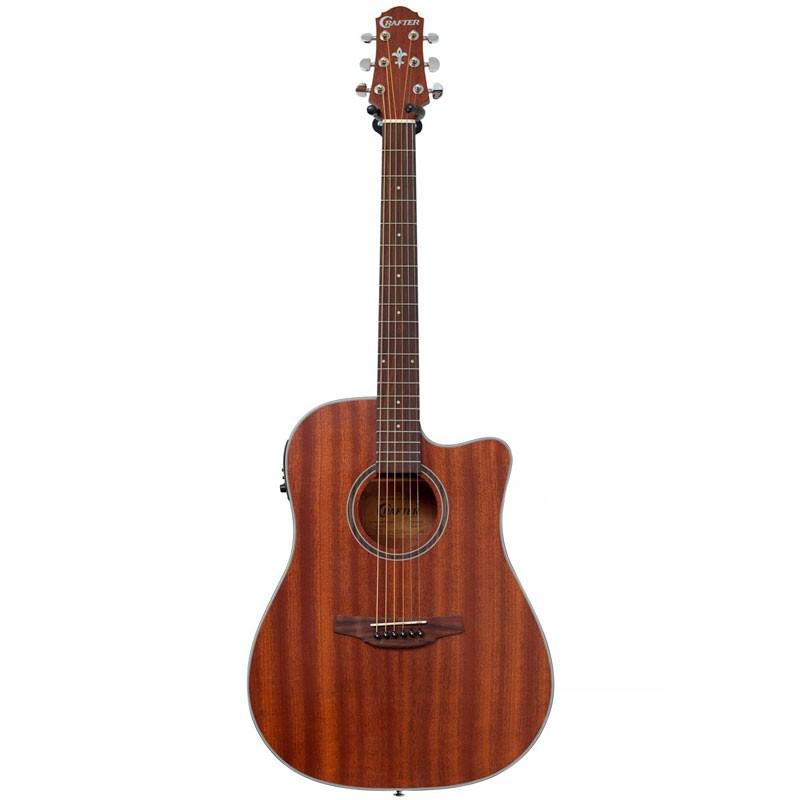 Violão Crafter Hd100 Mahogany Folk  - Luggi Instrumentos Musicais