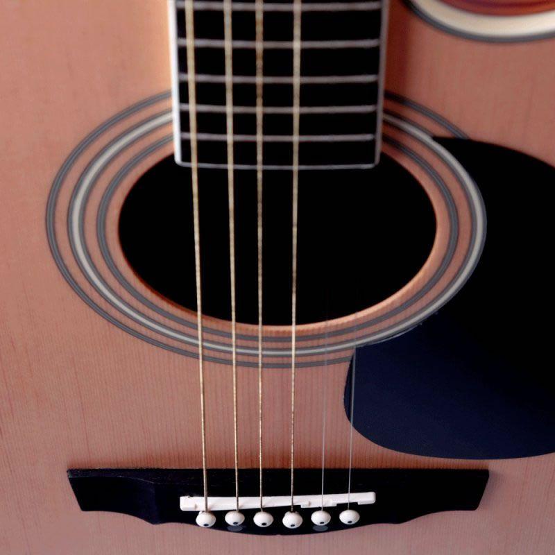 Violão Di Giorgio F104 Folk Aço Natural  - Luggi Instrumentos Musicais