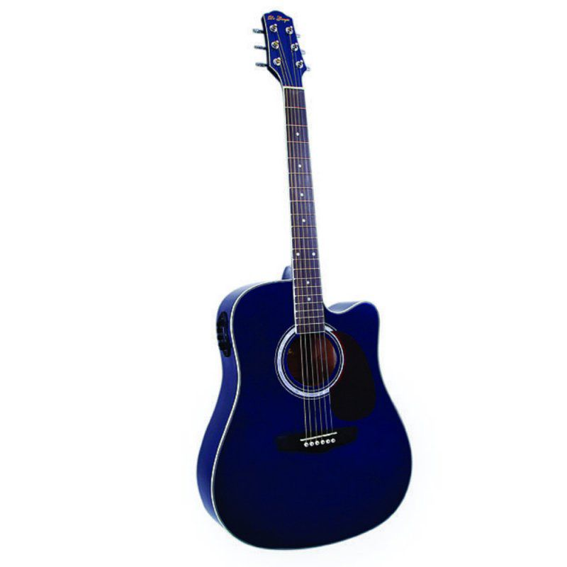 Violão Di Giorgio Genesis Blue Azul  - Luggi Instrumentos Musicais