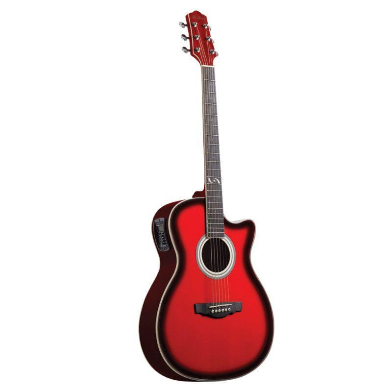 Violão Di Giorgio Iron Red Vermelho  - Luggi Instrumentos Musicais