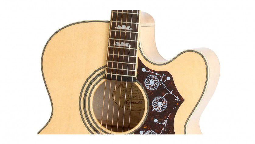 Violão Epiphone Ej200Ce Gold Natural  - Luggi Instrumentos Musicais