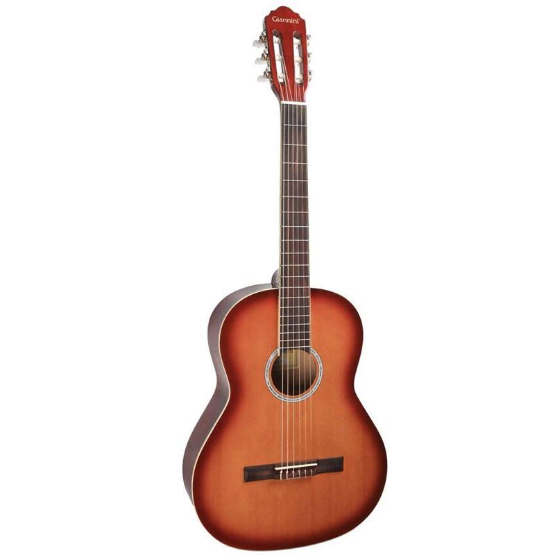 Violão Giannini Gn15 Nylon Sunburst Cherry  - Luggi Instrumentos Musicais