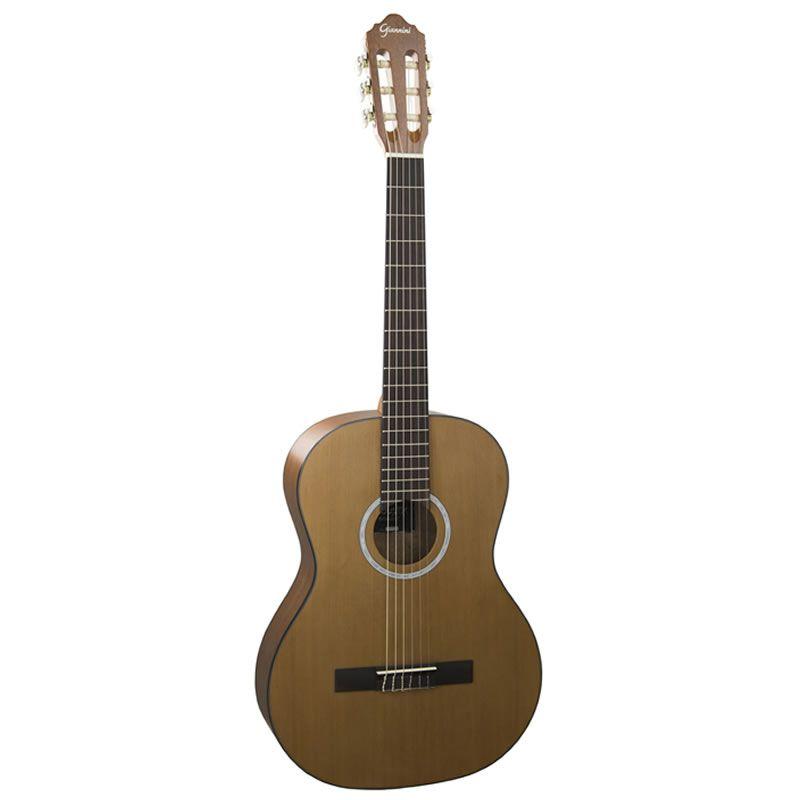 VIOLÃO GIANNINI GN-17 NYLON NATURAL  - Luggi Instrumentos Musicais