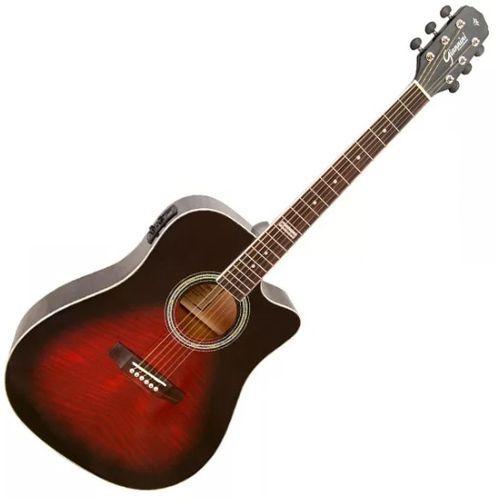 Violao Giannini Gnf-1D Ceq Nylon Vermelho  - Luggi Instrumentos Musicais