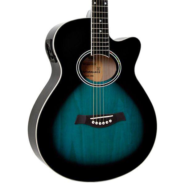 Violão Giannini GSF-1D CEQ Aço Azul  - Luggi Instrumentos Musicais