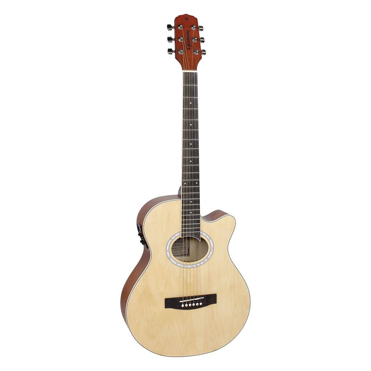 Violao Giannini Gsf-1D Ceq Aço Natural  - Luggi Instrumentos Musicais