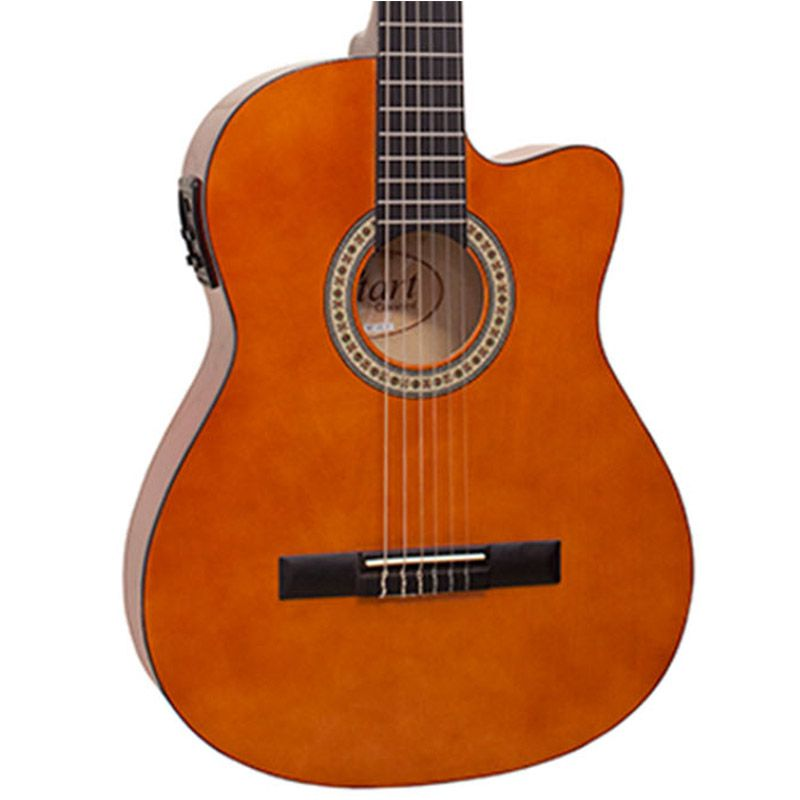 Violão Giannini Nf-14 Natural - Flat - Nylon  - Luggi Instrumentos Musicais