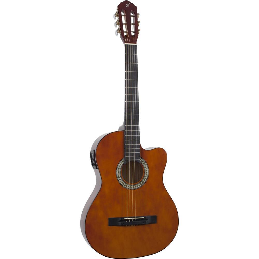 Violão Giannini Sf-14 Ceq-N Natural - Flat - Aço  - Luggi Instrumentos Musicais