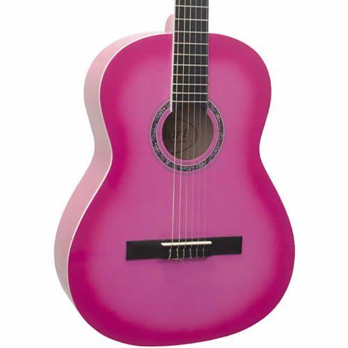 Violão Giannini Start N14 Nylon Pink  - Luggi Instrumentos Musicais