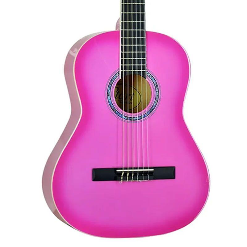Violão Giannini Start N6 3/4 Nylon Pink  - Luggi Instrumentos Musicais