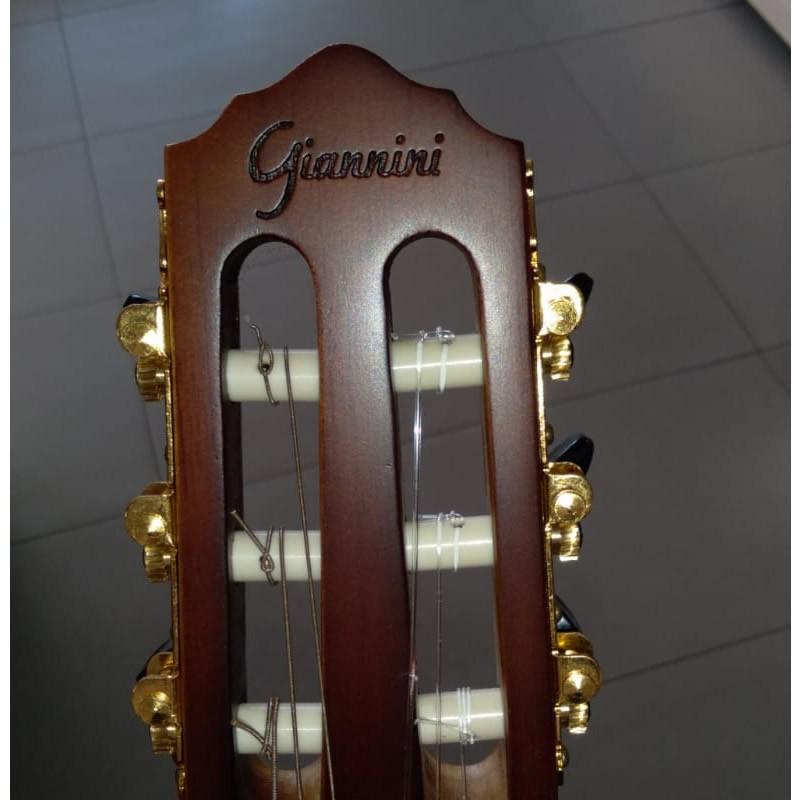 VIOLAO GIANNINI STN SUC CEQ NS FLAT NYLON  - Luggi Instrumentos Musicais
