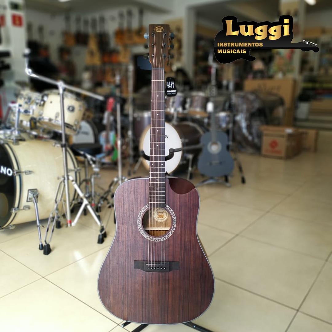 VIOLAO GONZALEZ ELETRICO FOLK CREPUSCULO-Aço  - Luggi Instrumentos Musicais