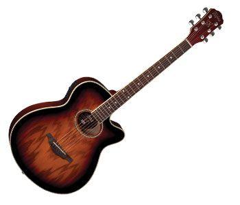 Violão Hofma HM239 Mini Jumbo Aco Sunburst  - Luggi Instrumentos Musicais