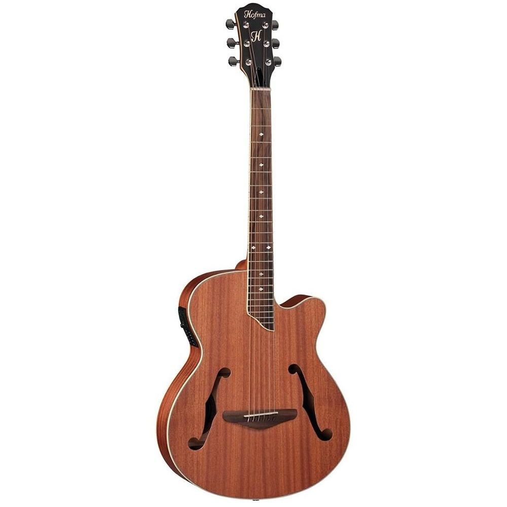 Violão Hofma Hmf240 Natural  - Luggi Instrumentos Musicais