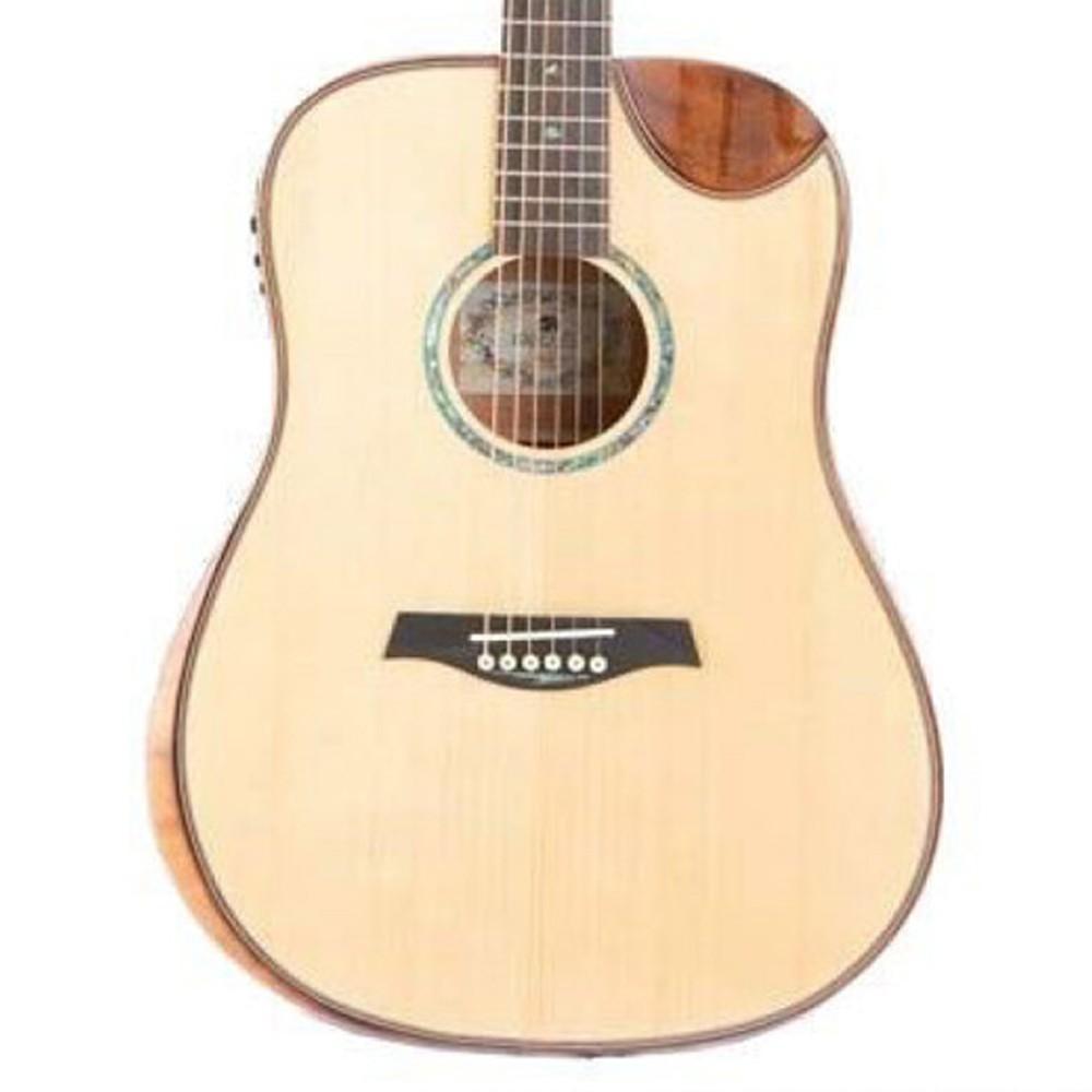 Violão Marques Va202 Natural - Folk - Aço  - Luggi Instrumentos Musicais