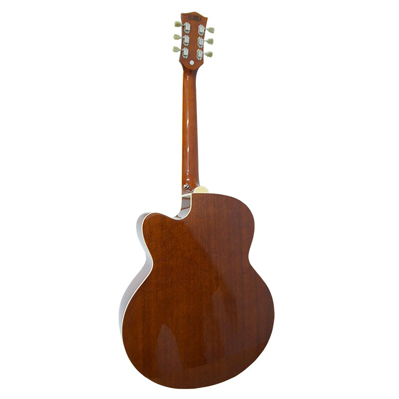 Violão Marques VA-209 Jumbo Natural - Aço - Eletroacústico   - Luggi Instrumentos Musicais