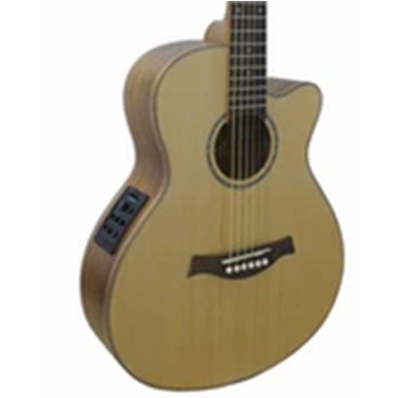 Violão Marques Vaeq03 Natural Fosco - Clássico - Aço  - Luggi Instrumentos Musicais