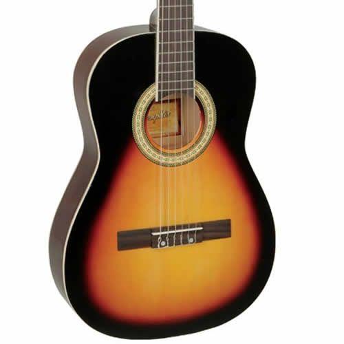 Violão Memphis Ac34 Nylon Sunburst  - Luggi Instrumentos Musicais