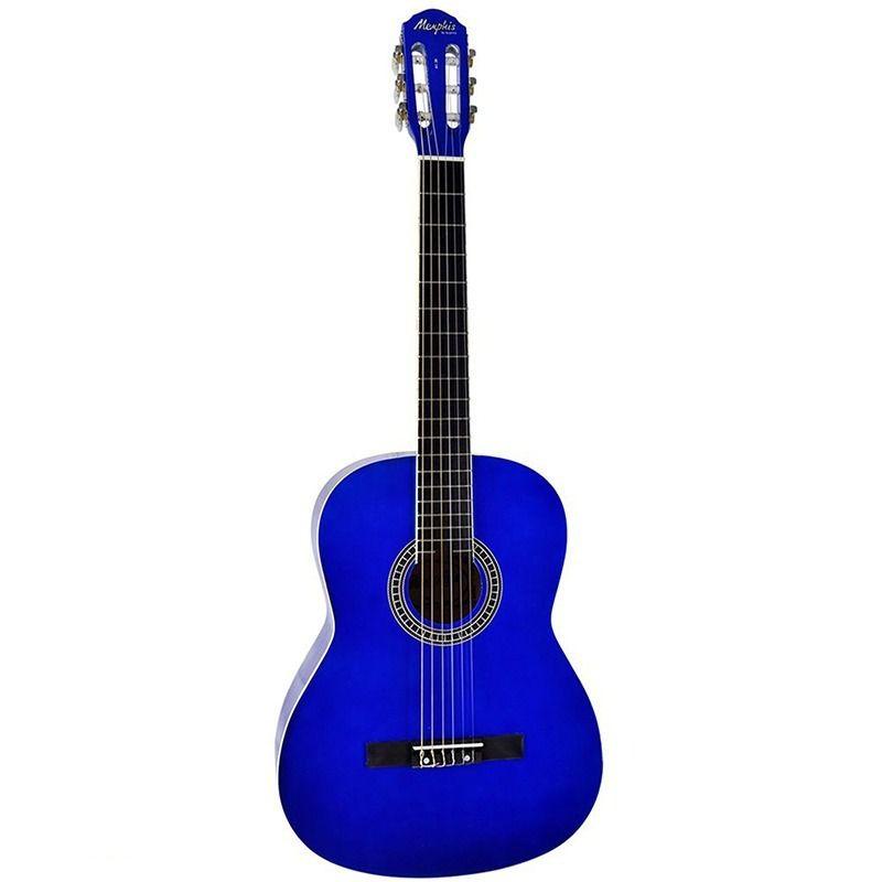 Violão Memphis Ac39 Azul  - Luggi Instrumentos Musicais
