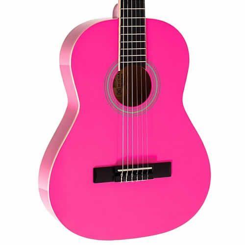 Violão Michael Vm16E 3/4 C/Capa Pink  - Luggi Instrumentos Musicais