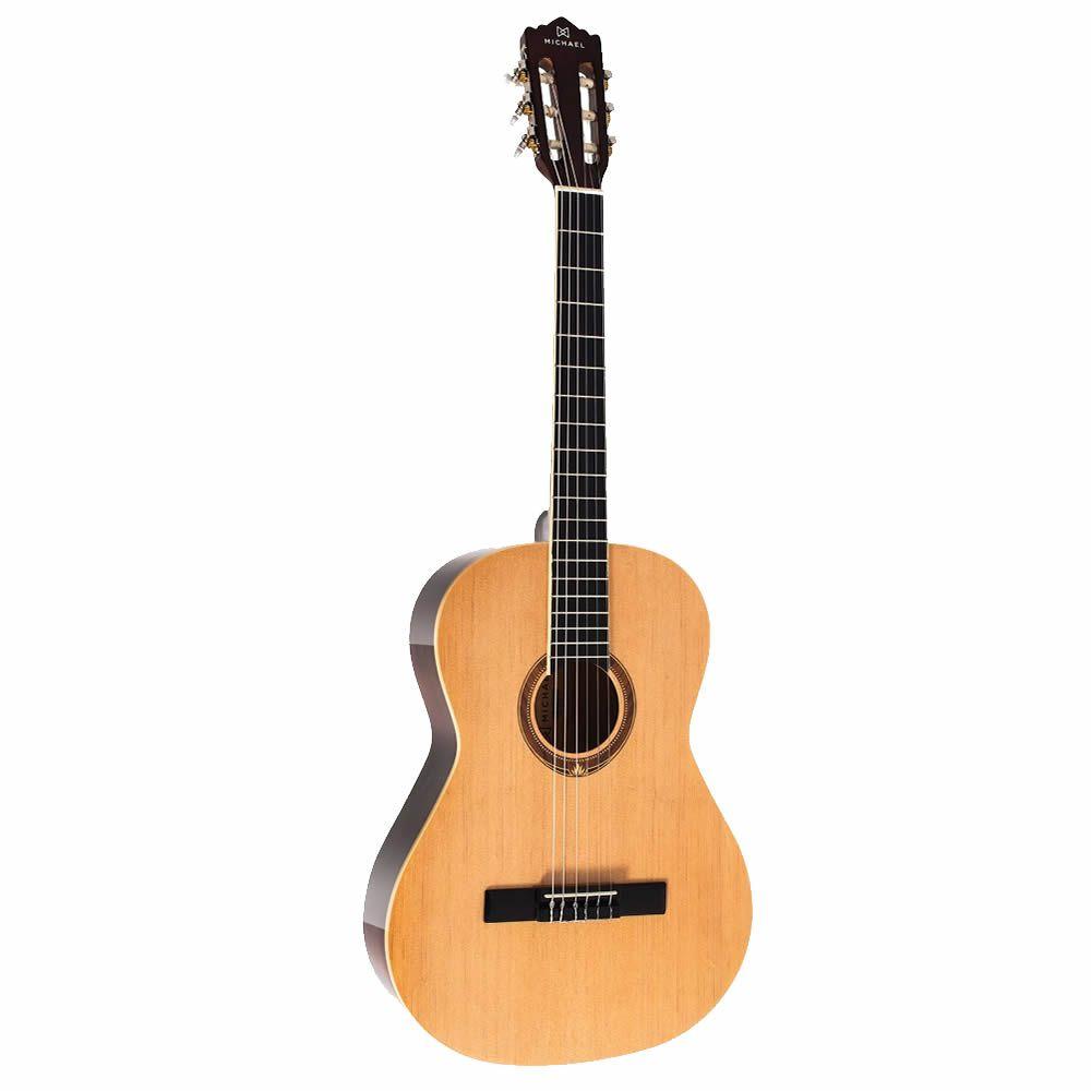 Violão Michael VM19E Natural - Infantil - Nylon  - Luggi Instrumentos Musicais