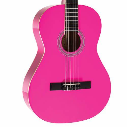 Violão Michael Vm19E C/Capa Pink  - Luggi Instrumentos Musicais