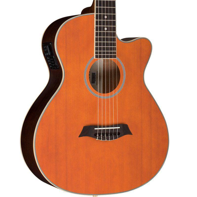 Violão Michael Vm681Dt Natural Satin Honey  - Luggi Instrumentos Musicais