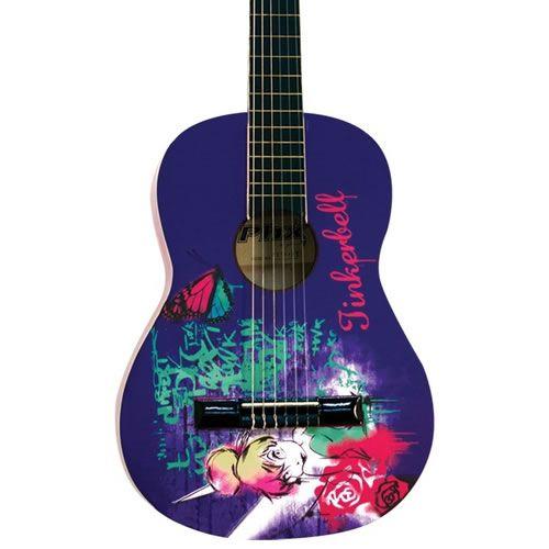 Violão Phx Vjt-2/Vjt-3 Infantil / Juvenil Disney Tinkerbell  - Luggi Instrumentos Musicais