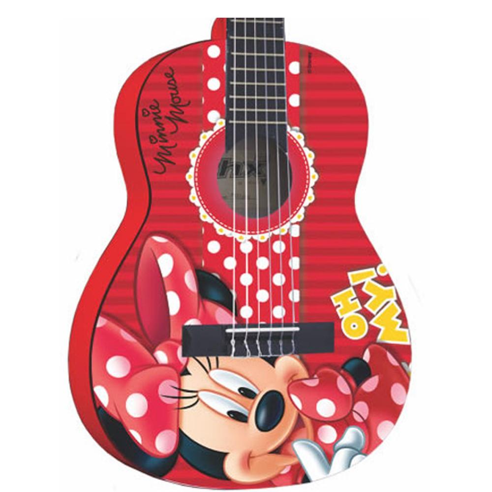 Violão Phx Vid-Mn1 Vermelho - Infantil - Nylon  - Luggi Instrumentos Musicais