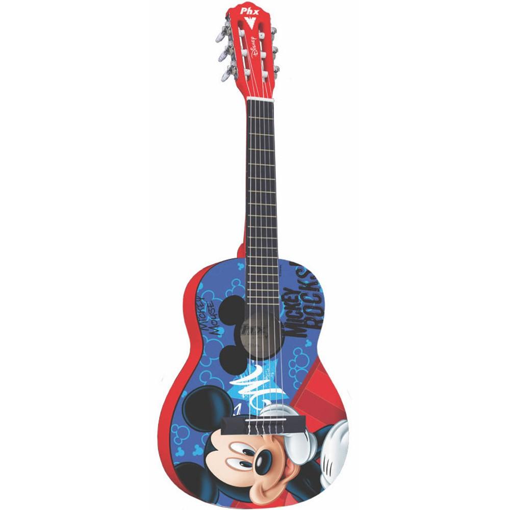 Violão Phx Vid-Mr1 Vermelho - Infantil - Nylon  - Luggi Instrumentos Musicais