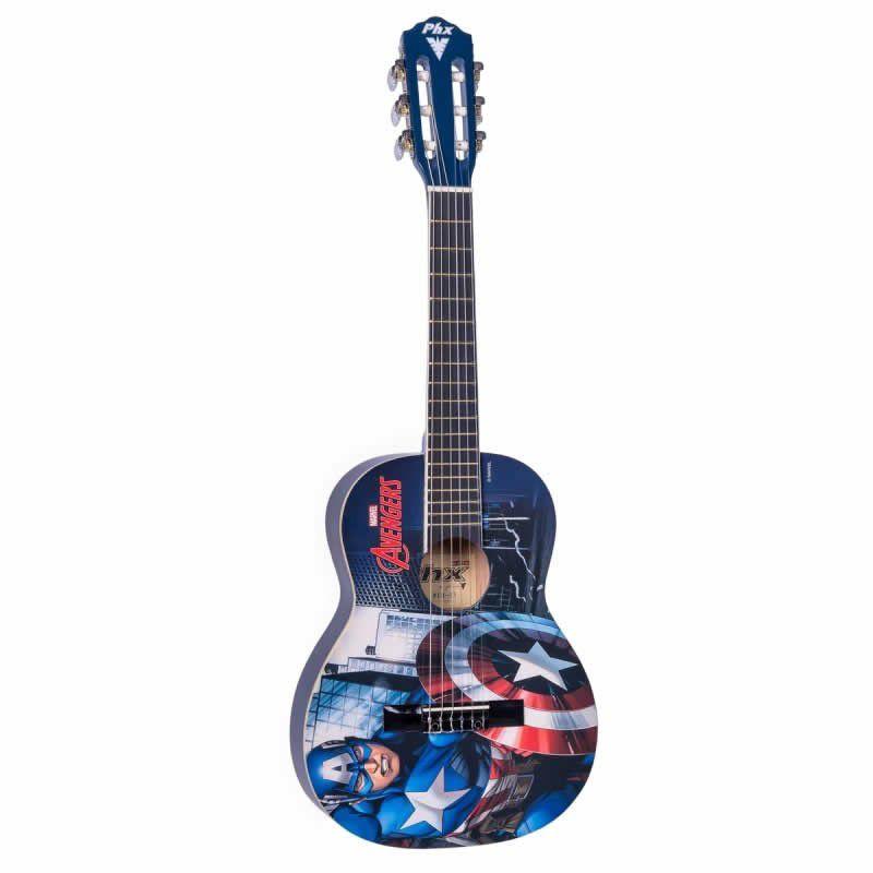 Violão Phx Vim-C1 Marvel Capitão América  - Luggi Instrumentos Musicais