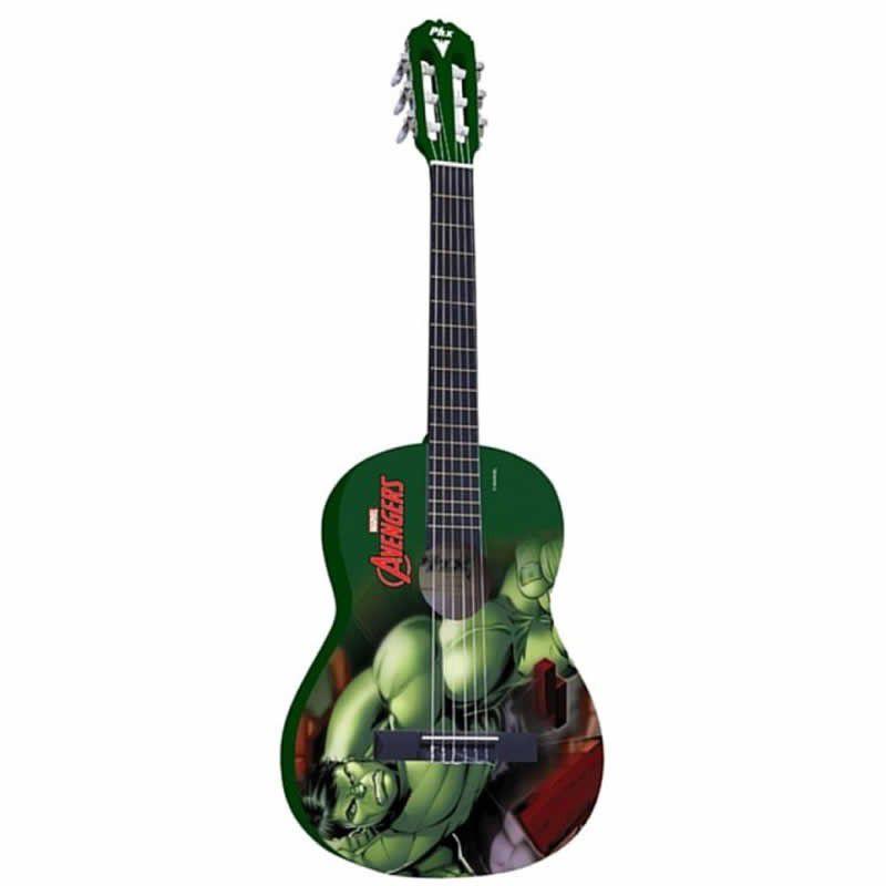 Violão Phx Vim-H1 Marvel Hulk  - Luggi Instrumentos Musicais