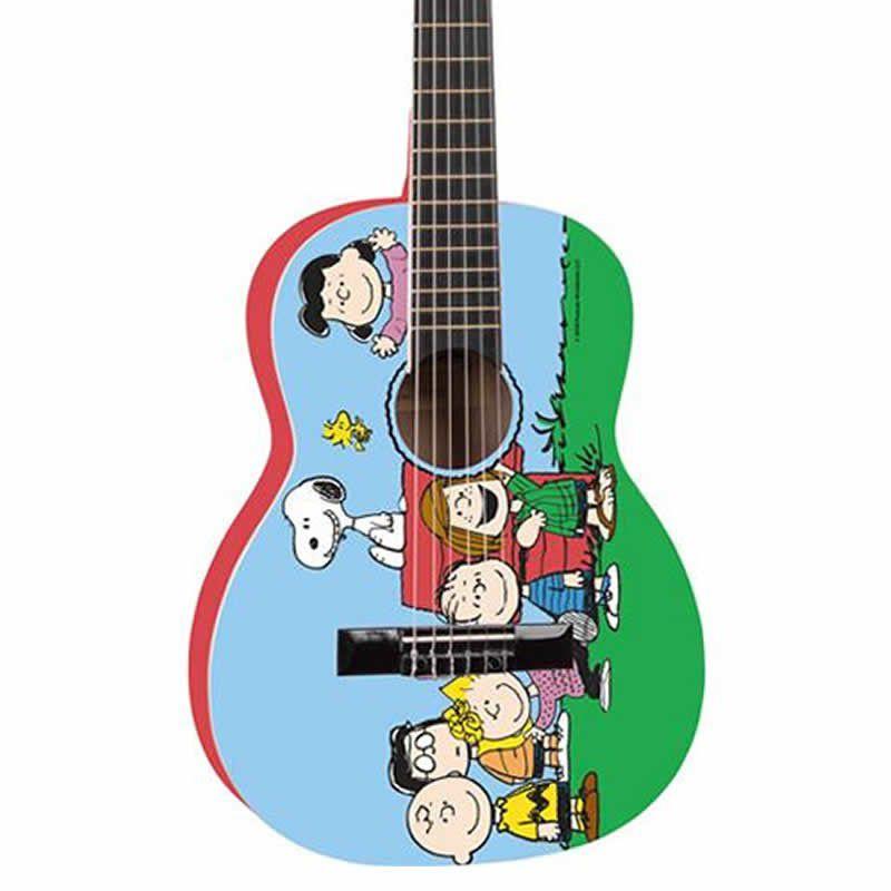 Violão Phx Vis-A1 Snoopy Amigos  - Luggi Instrumentos Musicais