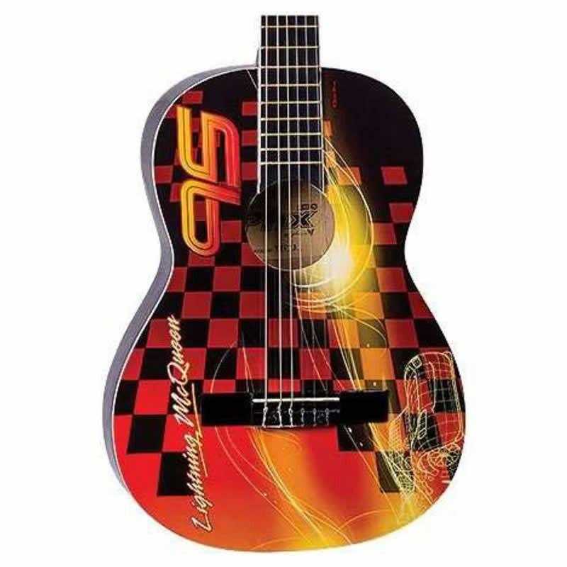 Violão Phx Vjc-3 Disney Carros  - Luggi Instrumentos Musicais