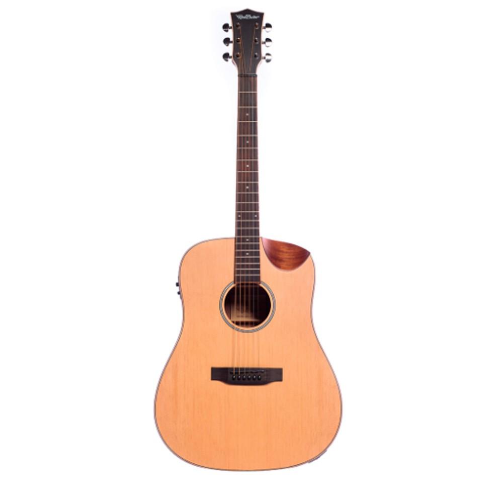 Violão Redburn Rb-100 Natural - Folk - Aço  - Luggi Instrumentos Musicais