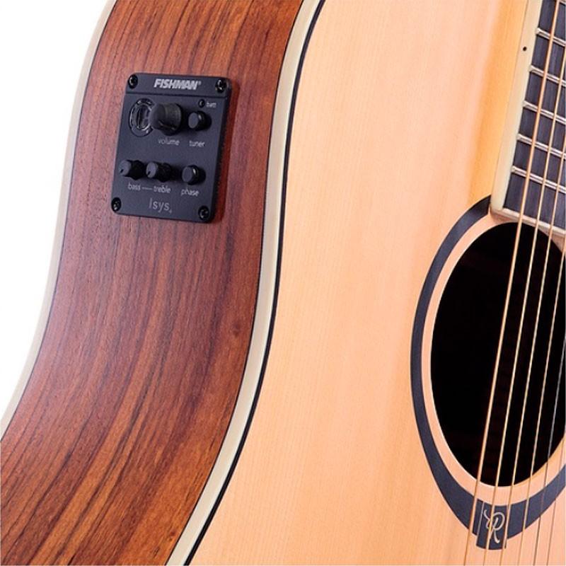 Violão Redburn Rbc-02 Natural -  Aço - Eletroacústico  - Luggi Instrumentos Musicais