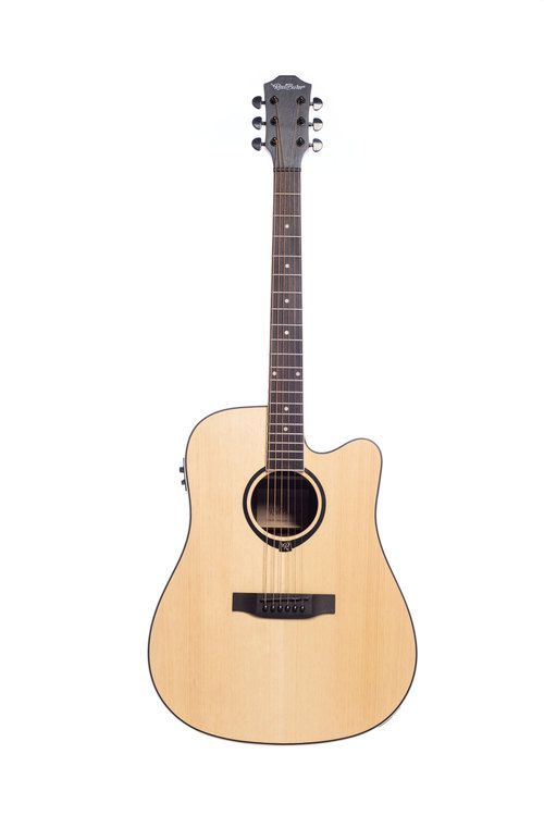 Violão Redburn Rbc-03 Aço Zebrano Natural  - Luggi Instrumentos Musicais