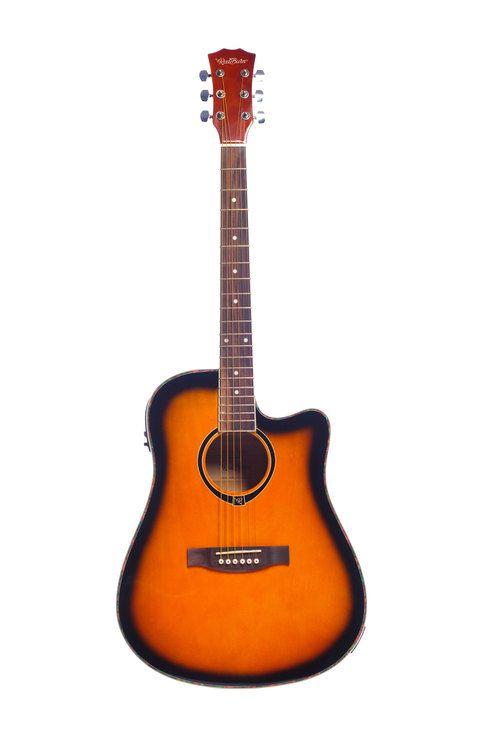 Violão Redburn RBW-SB Aço Sunburst  - Luggi Instrumentos Musicais
