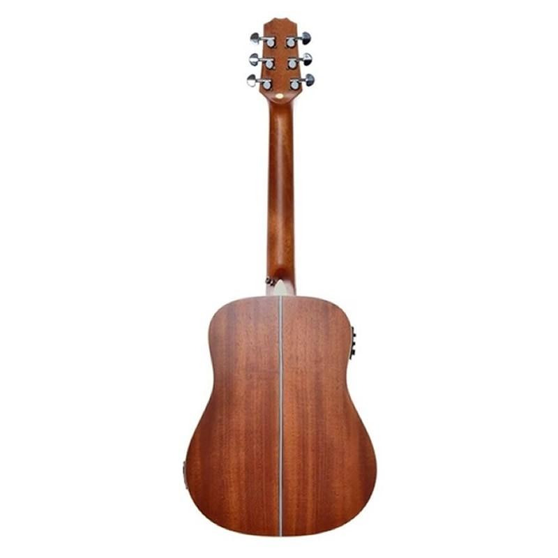 VIOLAO SEIZI BABY AKIRA HALF CUTAWAY MAHOGANY SATIN C/CAPA-AÇO  - Luggi Instrumentos Musicais