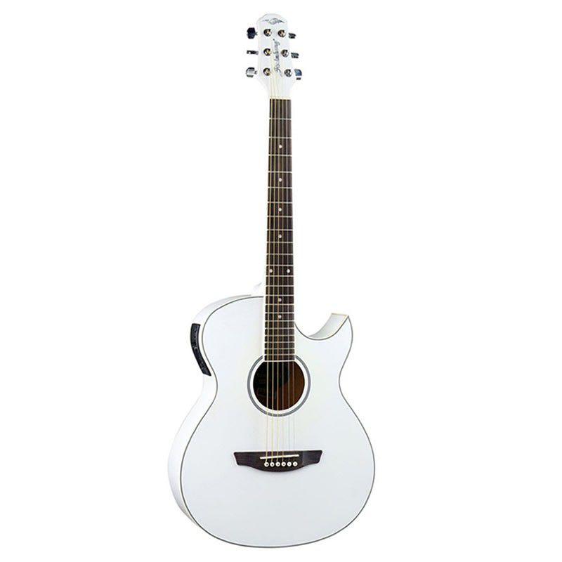 Violão Strinberg Aw53C Branco  - Luggi Instrumentos Musicais