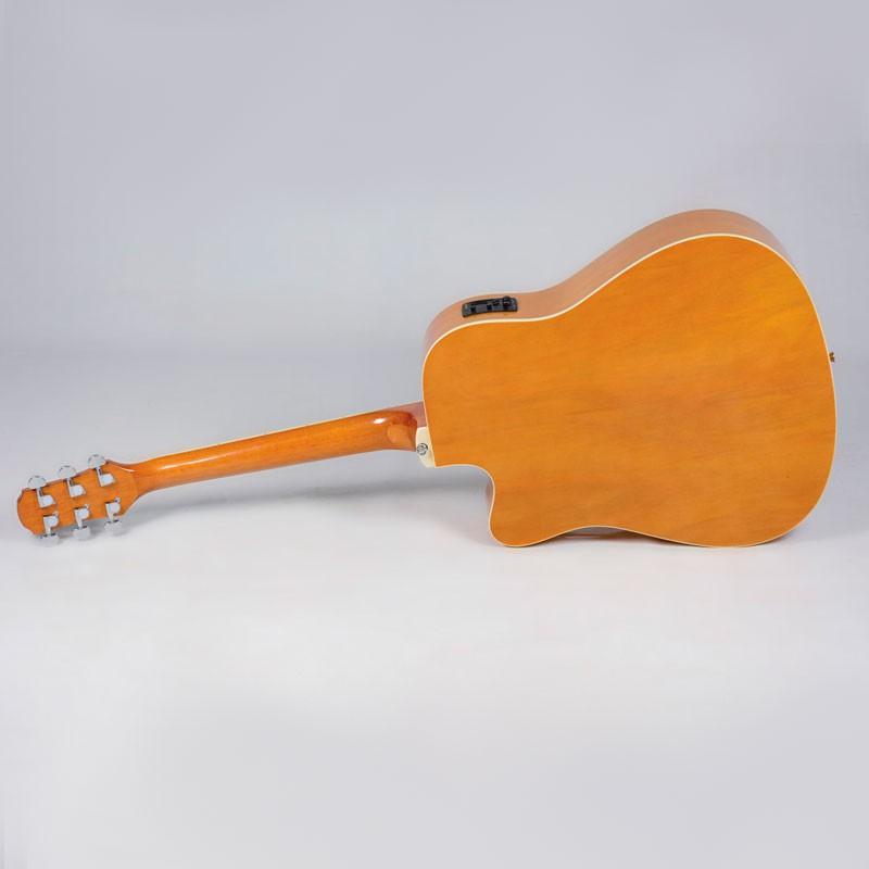Violão Strinberg Le30C London Natural Fosco - Folk - Aço - Eletroacústico  - Luggi Instrumentos Musicais