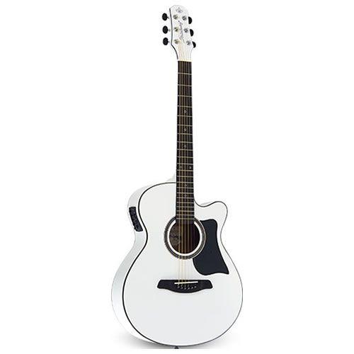 Violão Strinberg Sa25C Aço Branco  - Luggi Instrumentos Musicais