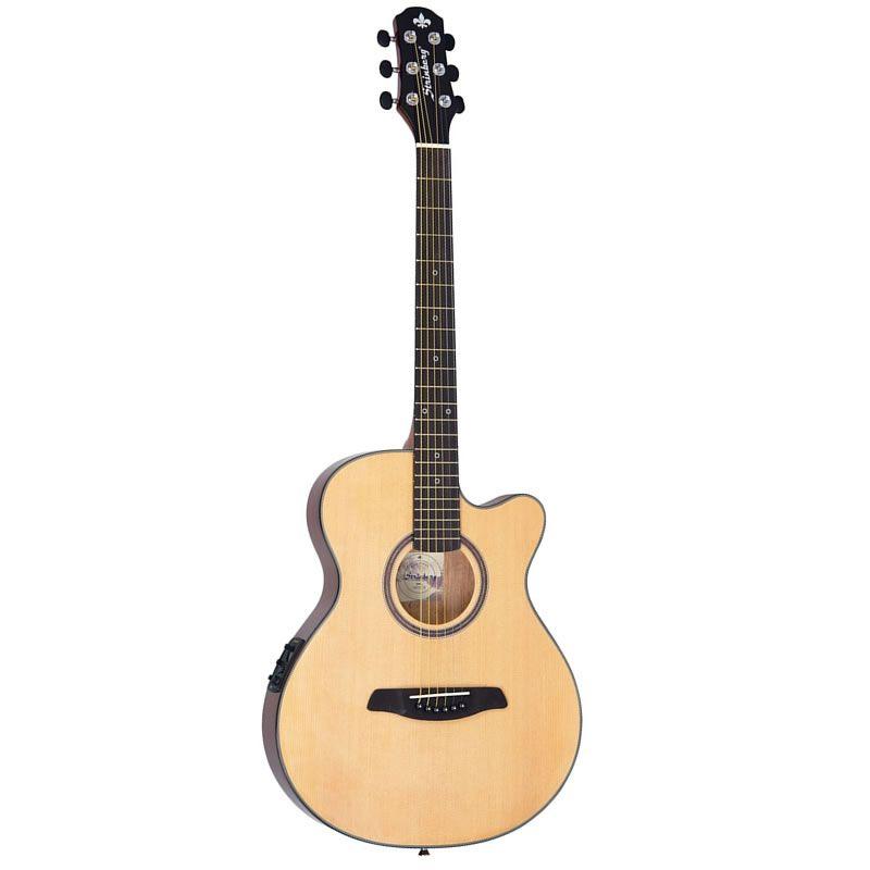 Violão Strinberg SAF-25C Natural Flat Aço  - Luggi Instrumentos Musicais